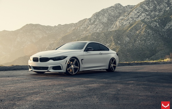 Picture BMW, BMW, Coupe, Voss, Vossen, 4-Series