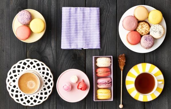 Picture colorful, cookies, dessert, sweet, dessert, cookies, macaron, macaron, almond
