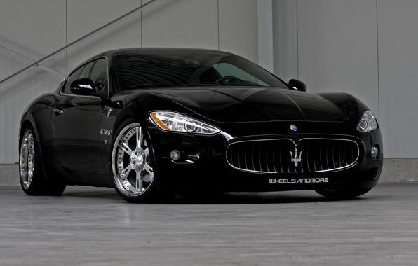 Picture maserati, Maserati, auto walls, Maserati, black cars