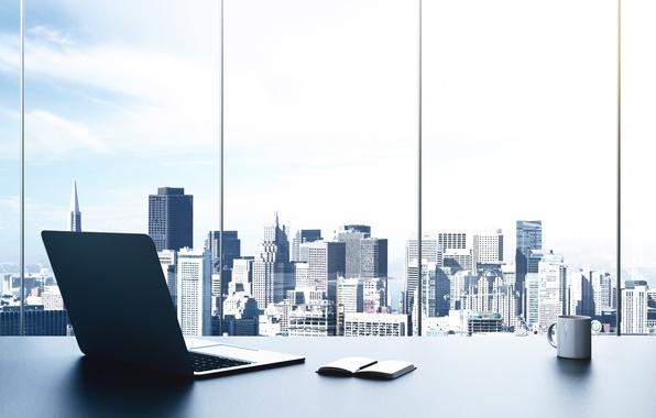 Photo Wallpaper Design Style Desk Interior Blur Window Handle