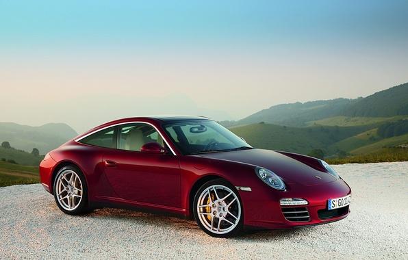 Picture machine, cars, Porsche, porsche 911 targa 4s