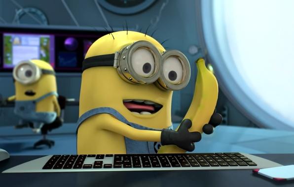 Picture Minions, Minions, Despicable Me, Despicable Me, Banana