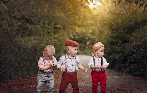 Picture children, boys, team