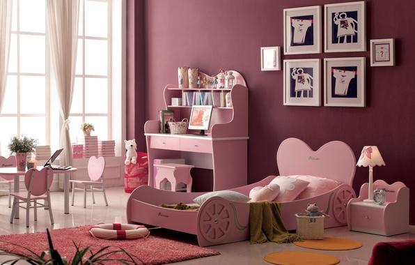 Picture design, house, style, room, Villa, interior, children's