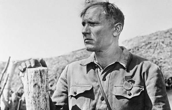 Picture actor, writer, writer, Russian, still from the film, Soviet, They fought for the Motherland, filmmaker, …