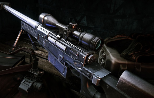 Picture weapons, guns, sniper rifle, Sniper Ghost Warrior 2, Accuracy International AW50