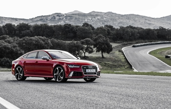 Photo wallpaper Audi, Audi, Sportback, RS 7