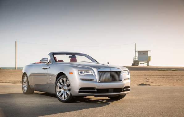 Picture Rolls-Royce, convertible, Dawn, rolls-Royce, down