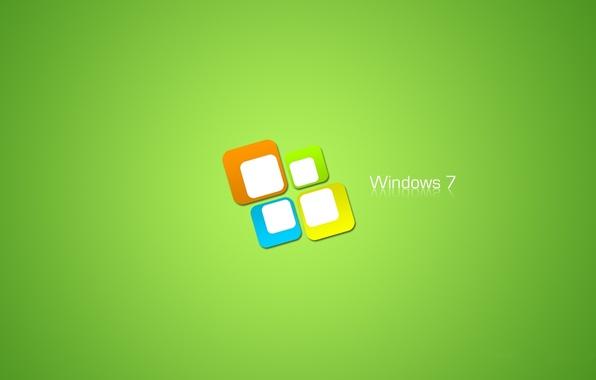 Picture minimalism, logo, Desktop, windows, microsoft, Seven, Logo, wallpapers, windows seven, Hi-Tech