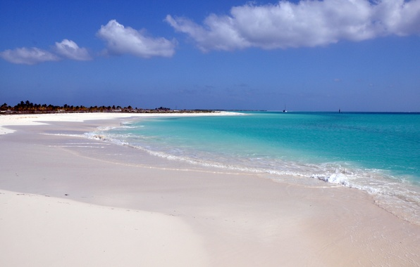 Picture sand, sea, summer, water, nature, Caribbean, the ocean.landscape