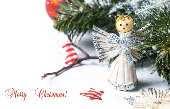 Picture decoration, toy, tree, new year, bow, candy, socks, new year, the bride, toy, merry christmas, ...