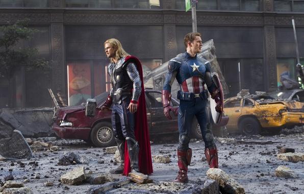 Picture machine, the building, chris evans, Chris Evans, new York, captain america, thor, the Avengers, Chris …