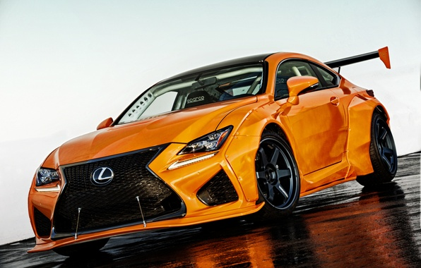 Picture Lexus, sedan, Lexus, RC F