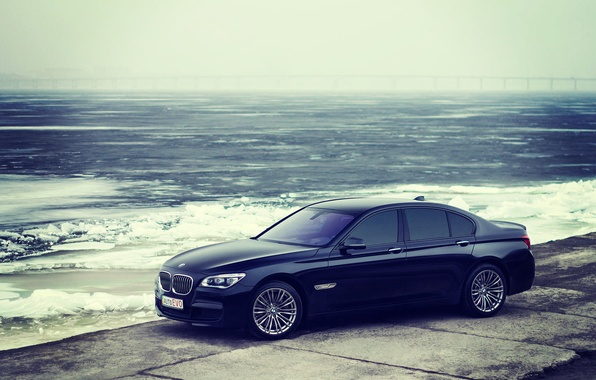 Picture cold, winter, BMW, BMW, winter, 750, f01