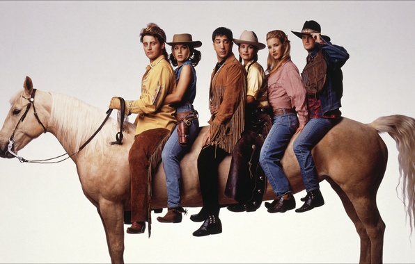 Picture horse, the series, friends, the friends
