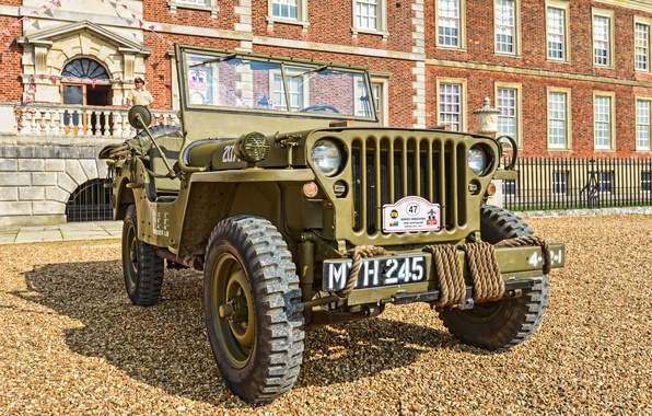 """Picture war, car, the front, army, Jeep, high, patency, world, Second, times, """"Willis-MV"""", Willys MB"""