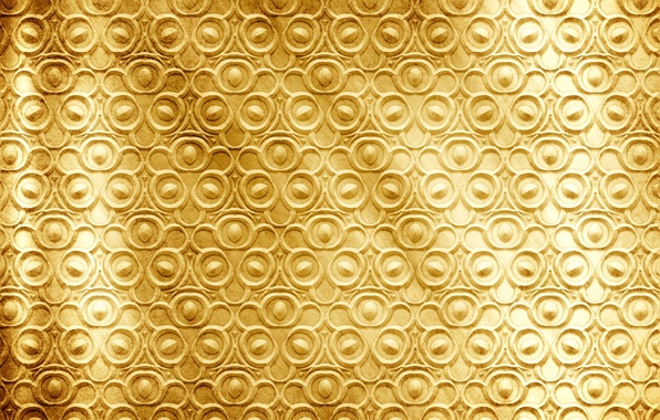 Picture metal, background, gold, pattern, texture, golden, pattern