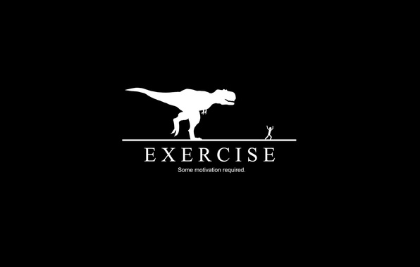 Picture dinosaur, exercise, motivation