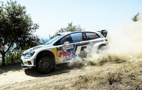 Picture Auto, Dust, White, Volkswagen, Speed, Day, WRC, Rally, Polo, Jari-Matti Latvala
