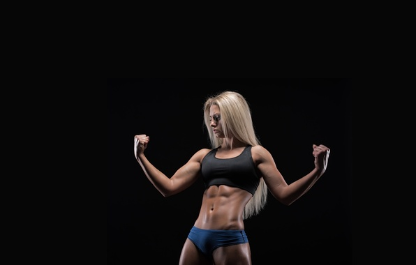 Picture model, pose, fitness, abs