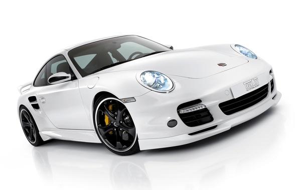 Picture White, Porsche, Porsche, Car