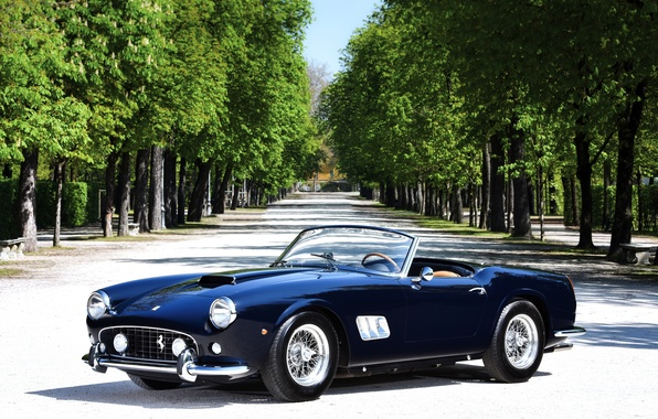Picture Ferrari, Ferrari, CA, Spyder, California, spider, 1963, 250 GT, Short Wheelbase