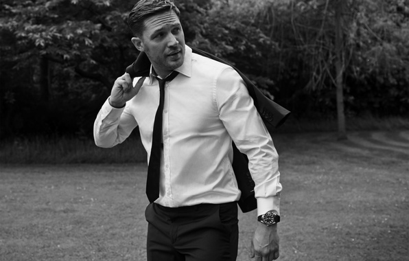 Picture style, watch, bow, costume, tie, actor, Men, look, Tom Hardy, Tom Hardy, lubaska