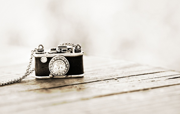 Picture background, stone, the camera, pendant, chain, suspension