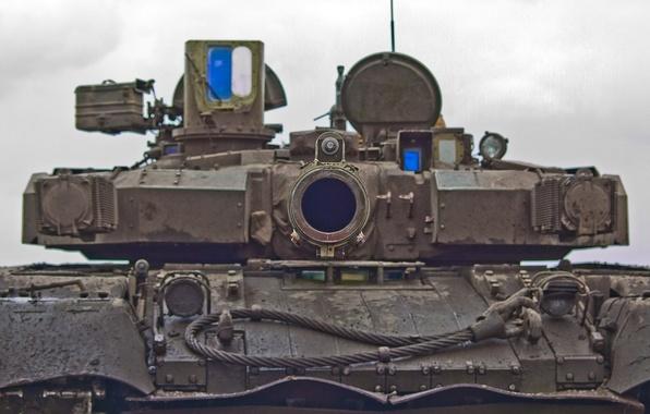 Picture tank, trunk, Ukraine, t-80 Oplot