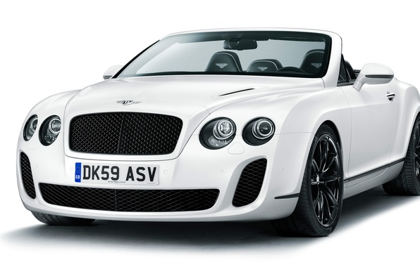 Picture Bentley, Continental, convertible, Supersports