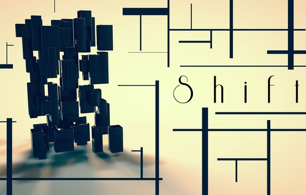 Picture graphics, shift, render, shift