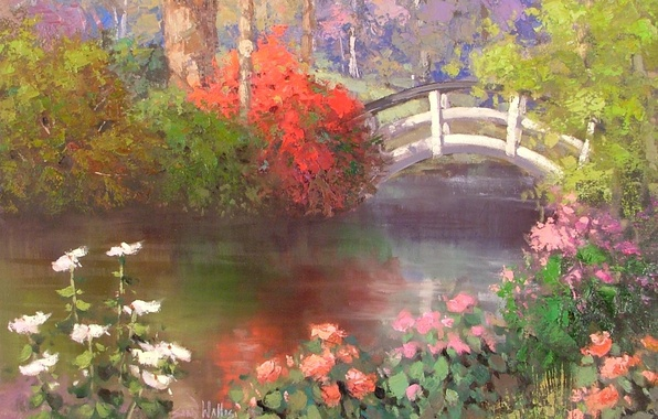 Picture art, Across The Pond, Sean Wallis