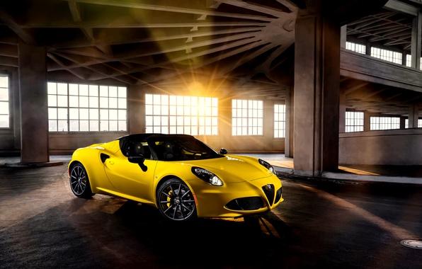 Picture Alfa Romeo, spider, alpha, Romeo, Spider, US-spec, 2015, 960