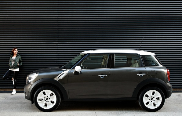 Picture Girl, BMW, Mini Cooper, Hatchback, MINI, Mini Cooper, Paceman