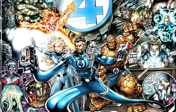 Wallpaper Being, Marvel, Ben Grimm, The Thing, Marvel, Mr