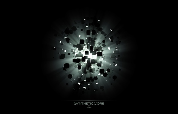 Picture light, the explosion, SyntheticCore, kubicki