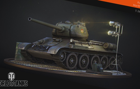 Picture tank, USSR, USSR, tanks, WoT, World of tanks, tank, World of Tanks, tanks, T-34-85, Wargaming.Net, …