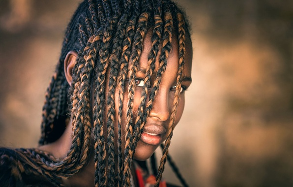 Picture braids, black girl, Hair, Joachim Bergauer