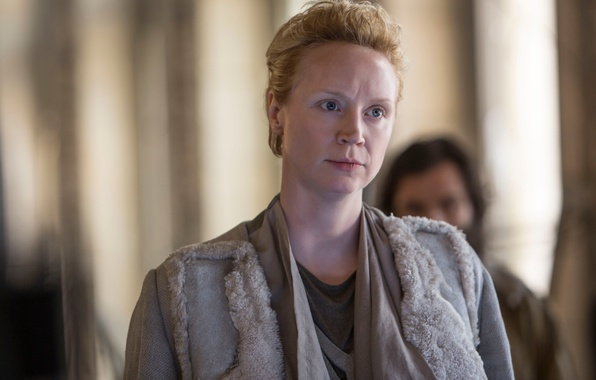 Picture Gwendoline Christie, The hunger games:mockingjay, The Hunger Games:Mockingjay - Part-2, Commander Lyme