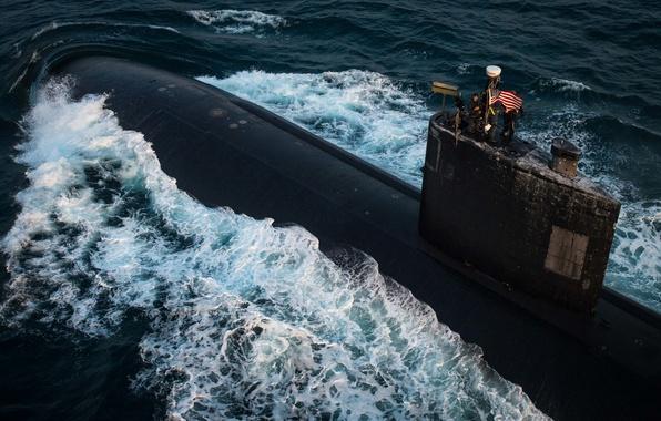 "Picture submarine, type, ""Los Angeles"", USS Toledo, SSN 769"