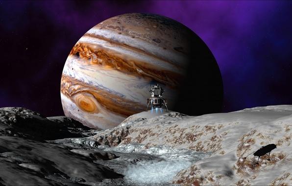 Picture space, satellite, Venus, wallpapers, space probe