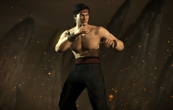 Photo Wallpaper Classic Liu Kang Mortal Kombat X