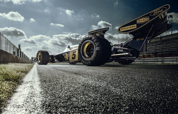 Picture Lotus, Lotus, Car, Race, The car, Track, Track, 72D