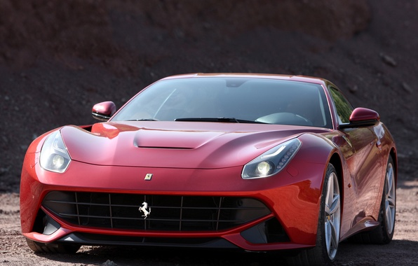 Picture Ferrari, front view, berlinetta, F12, the ferrari f12