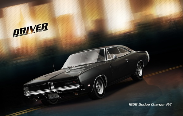 Picture car, Dodge Charger, San Francisco, Driver: San Francisco