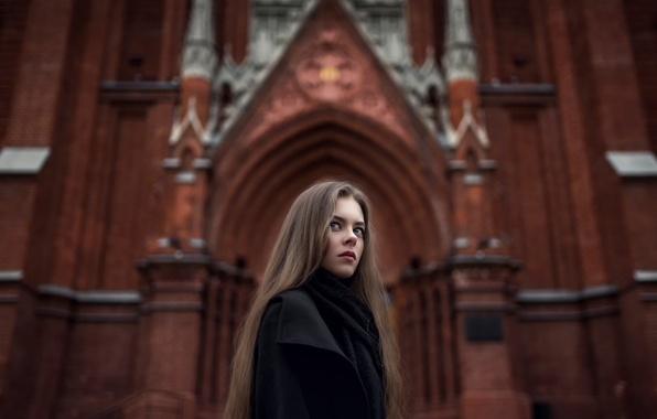 Picture the city, photo, art, Moscow, Kate, Gothic, composition, Maxim Guselnikov, Ekaterina Kuznetsova