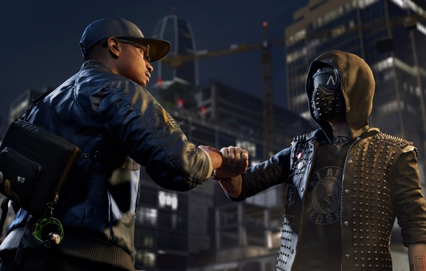 Picture Ubisoft, San-Francisco, Marcus, DedSec, Watch_Dogs 2, Wrench