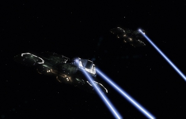 Picture space, ships, stargate, daedalus, star gate