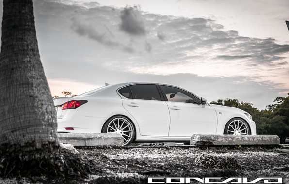 Picture machine, auto, the sky, Lexus, auto, F-Sport, Wheels, Concave, GS350