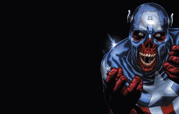 Picture zombies, Marvel, captain america, suit